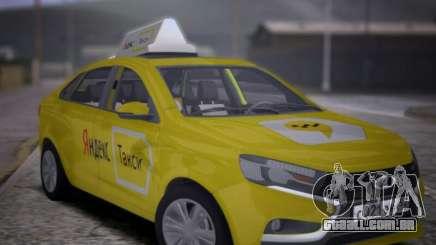 Lada Vesta Yandex Taxi (LVYT) Beta 0.1 para GTA San Andreas