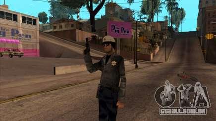 Beta Skin SFPDM para GTA San Andreas