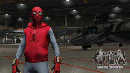 Spider-Man Home-Made Suit para GTA 5