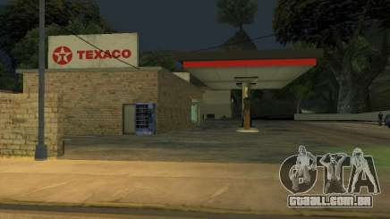 Texaco Gas Station para GTA San Andreas