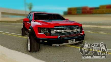 Ford F150 Raptor para GTA San Andreas