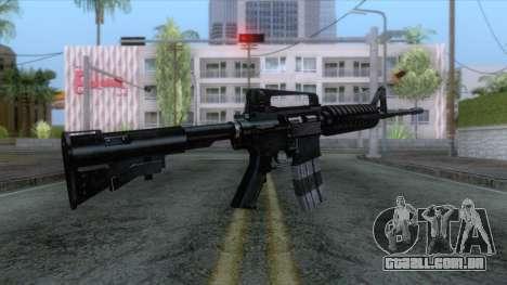 M4A1 Assault Rifle para GTA San Andreas
