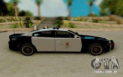 Dodge Charger SRT8 Hellcat 2015 para GTA San Andreas esquerda vista