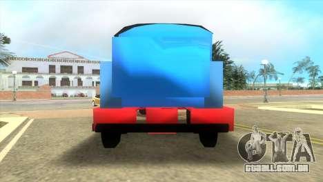 Thomas The Train para GTA Vice City deixou vista
