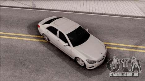 Mercedes-Benz E250 para GTA San Andreas