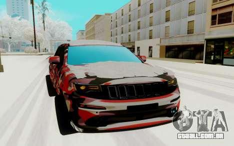 Jeep Cherokee SRT para GTA San Andreas