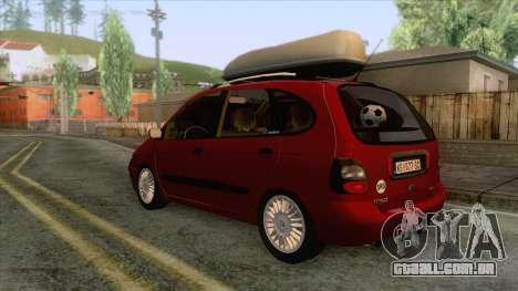 Renault Megane Scenic para GTA San Andreas