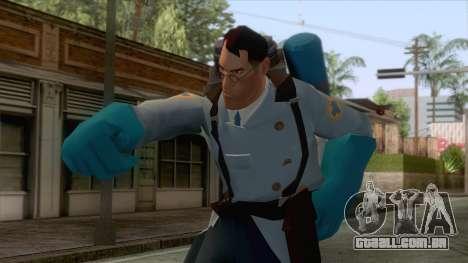 Team Fortress 2 - Medic Skin v1 para GTA San Andreas