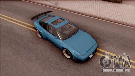 Nissan 180SX Rocket Bunny para GTA San Andreas vista direita