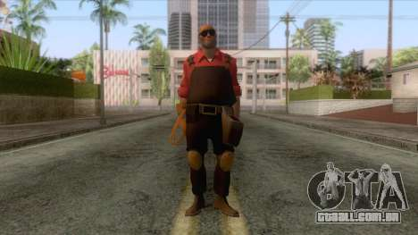 Team Fortress 2 - Engineer Skin v2 para GTA San Andreas