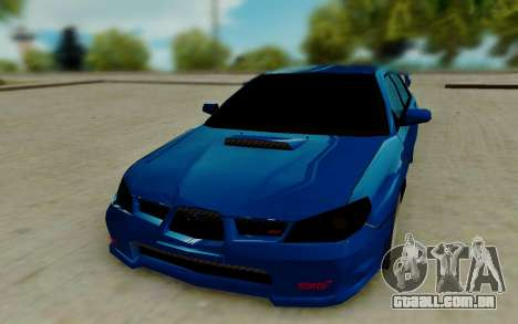 Subaru WRX STi 2005 para GTA San Andreas