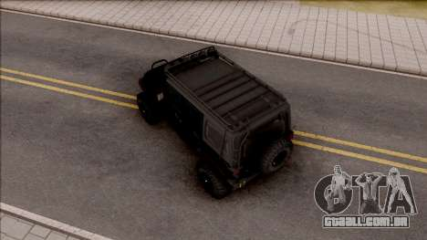 Jeep Wrangler Rubicon Off-Road para GTA San Andreas
