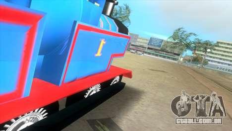 Thomas The Train para GTA Vice City vista direita