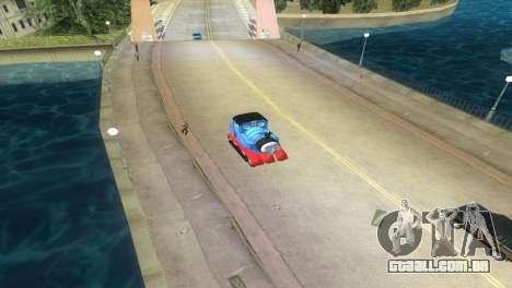 Thomas The Train para GTA Vice City vista traseira