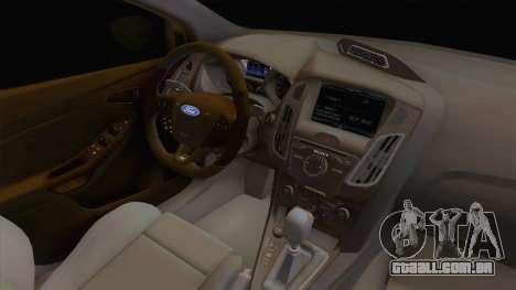 Ford Focus RS Hatchback 2017 para GTA San Andreas
