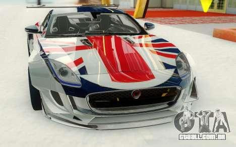 Jaguar CX16 para GTA San Andreas