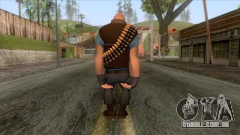 Team Fortress 2 - Heavy Skin v1 para GTA San Andreas