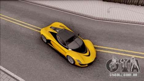 Grotti Turismo R from GTA V para GTA San Andreas