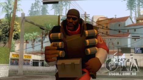 Team Fortress 2 - Demo Skin v2 para GTA San Andreas