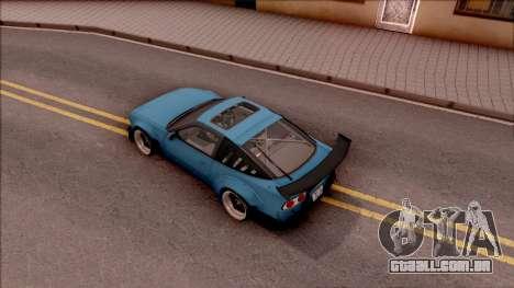 Nissan 180SX Rocket Bunny para GTA San Andreas vista traseira