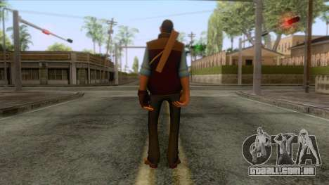 Team Fortress 2 - Sniper Skin v1 para GTA San Andreas