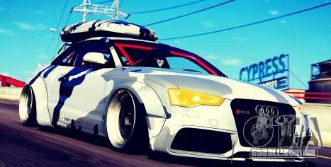 Audi RS5 Libertywalk para GTA 5
