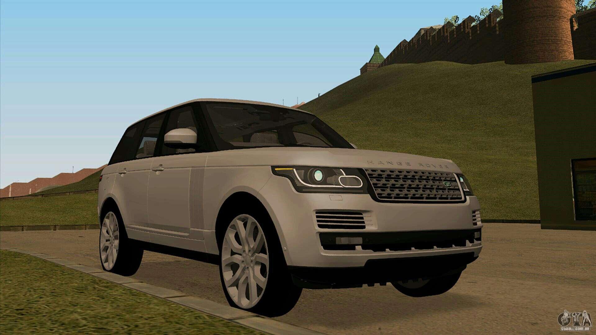 land rover range rover vogue para gta san andreas. Black Bedroom Furniture Sets. Home Design Ideas