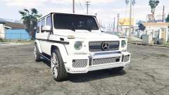 Mercedes-Benz G 65 AMG (W463) v1.1 [replace] para GTA 5