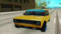 VAZ 2106 amarelo para GTA San Andreas