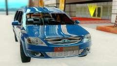 Lada Largus blue para GTA San Andreas
