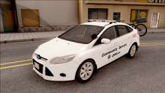 Ford Focus 2013 Community Service Officer para GTA San Andreas