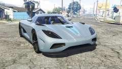 Koenigsegg Agera N 2011 [replace] para GTA 5
