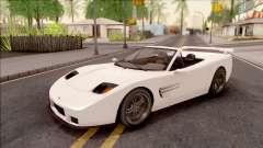 GTA IV Invetero Coquette Spyder IVF para GTA San Andreas