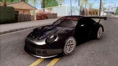 Porsche 911 RSR Itasha Neptunia Hyperdimension para GTA San Andreas