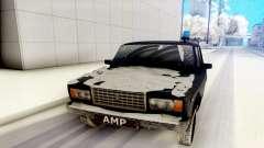 VAZ 2107 preto para GTA San Andreas