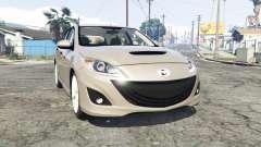 Mazdaspeed3 (BL) 2010 [replace] para GTA 5