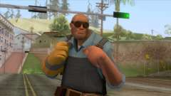 Team Fortress 2 - Engineer Skin v1 para GTA San Andreas