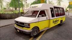 GTA V Brute Rental Shuttle Bus para GTA San Andreas