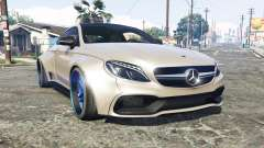 Mercedes-Benz C 63 S AMG widebody [add-on] para GTA 5