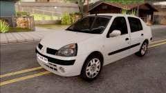 Renault Clio branco para GTA San Andreas