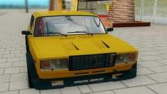 2107 amarelo para GTA San Andreas