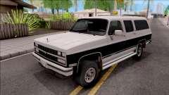 Chevrolet Suburban 1989 IVF para GTA San Andreas