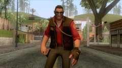 Team Fortress 2 - Sniper Skin v2 para GTA San Andreas