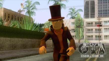 Prof Hershel Layton Skin para GTA San Andreas