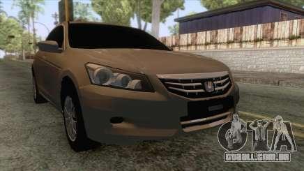 Honda Accord 2012 para GTA San Andreas