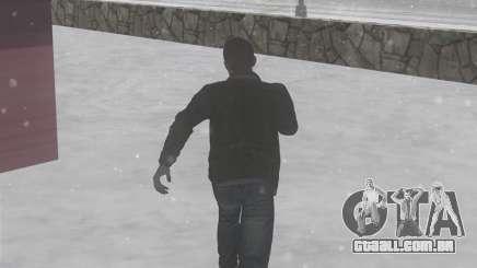Inverno passos para GTA San Andreas