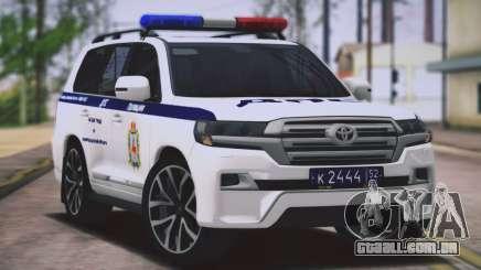 Toyota Land Cruiser 200-DPS Nizhny Novgorod região para GTA San Andreas