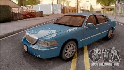 Lincoln Town Car L Signature 2010 HQLM para GTA San Andreas