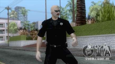 New Sfpd1 Skin para GTA San Andreas