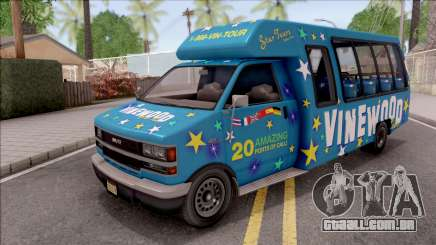 GTA V Brute Tour Bus IVF para GTA San Andreas